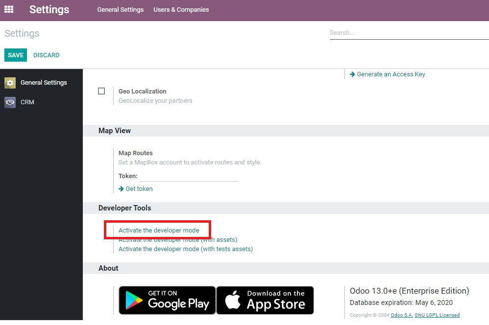 Odoo CRM Email to Lead P 1